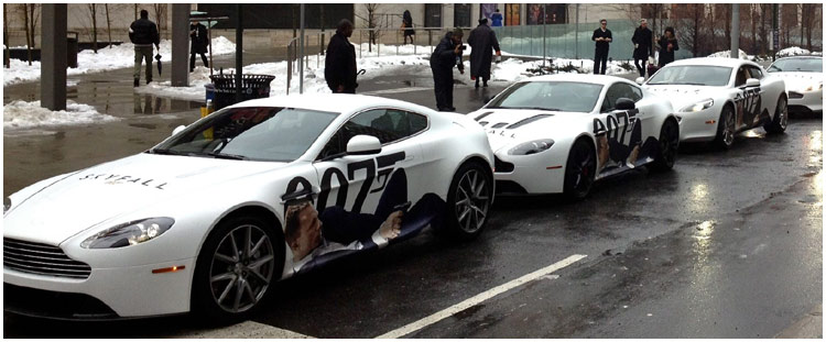Aston Martin Skyfall Car