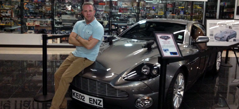 The James Bond Aston Martin and Other Awesome Toys