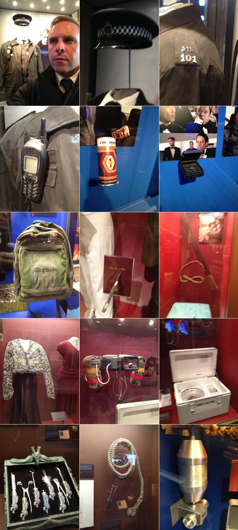 james bond at the international spy museum
